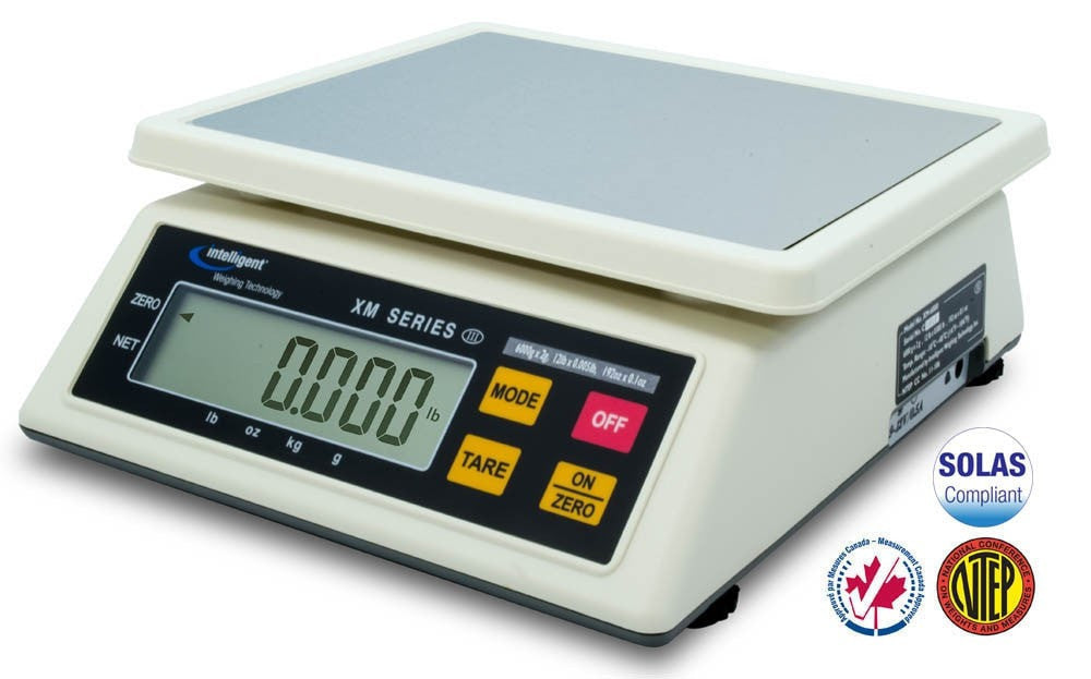 Intelligent-Weigh  Intelligent-Weighing XM-6000 Toploading Scale  Bench Scale | Way Up Scales