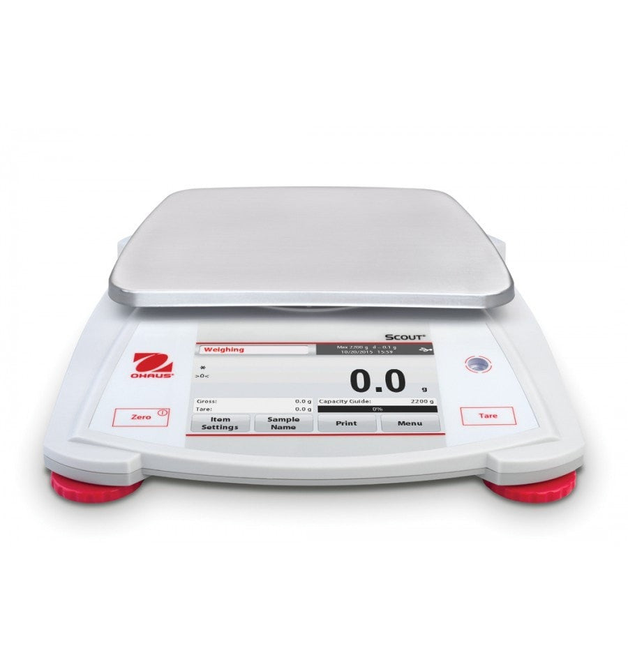 Ohaus  Ohaus Scout STX2202 Portable Touchscreen Balance  Portable Balance | Way Up Scales