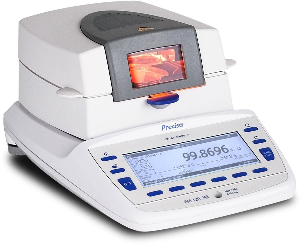 Precisa Executive Pro EM 120-HR Moisture Analyzer