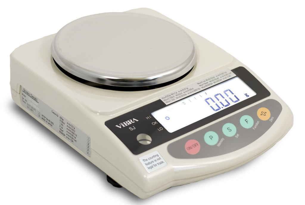 Vibra  Vibra SJ-620-NT Class I NTEP Approved Dispensary Balance  Precision Balance | Way Up Scales
