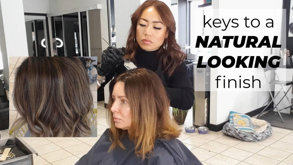 BEAUTY STRATEGIES : why does hair turn grey as we age? keys to getting a natural looking finish 😘😍