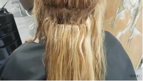 hair extensions grow out