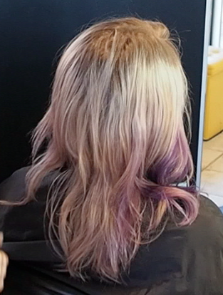 From Purple Mess To Platinum Blonde Hair Nvenn Hair And Beauty
