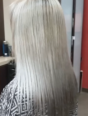 How To Get Silver Hair Without Bleach Damage Nvenn Hair And Beauty