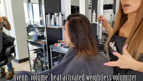 advanced color placement techniques nvenn volume heat activated volumixer