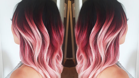 How To Do The Perfect Pink Faded Ombre Nvenn Hair And Beauty