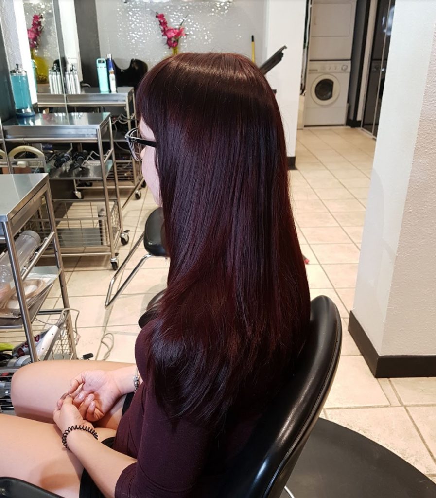 Red Plum Color Blend Nvenn Hair And Beauty