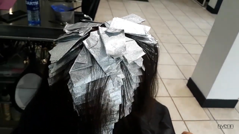 hair foiled up