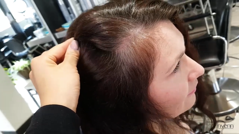 highlight technique for grey hair