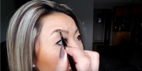 how to fill in your brows 6