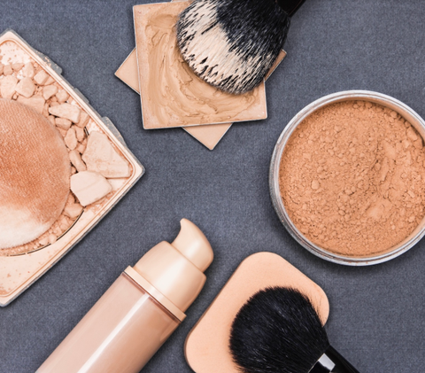 how to contour your nose powders and brushes