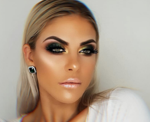 spring makeup bold brows @monika_mua