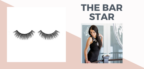 bar star eyelashes