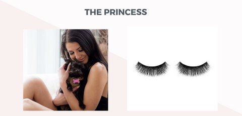 princess eyelashes