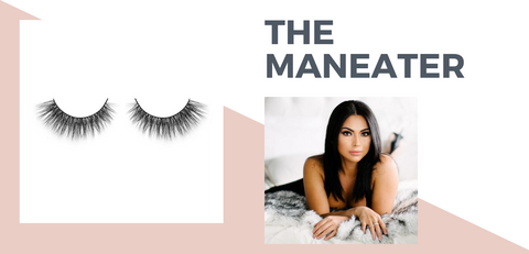 the maneater eyelashes