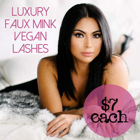 Luxury Faux Mink Lashes (4 Pairs)