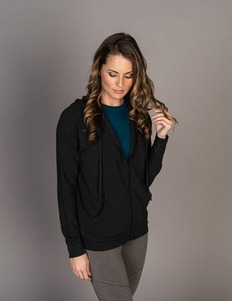 Majestic Long Sleeve French Rib Hoodie