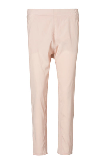 SILK LOW RISE BOYFRIEND PANT PALE PINK