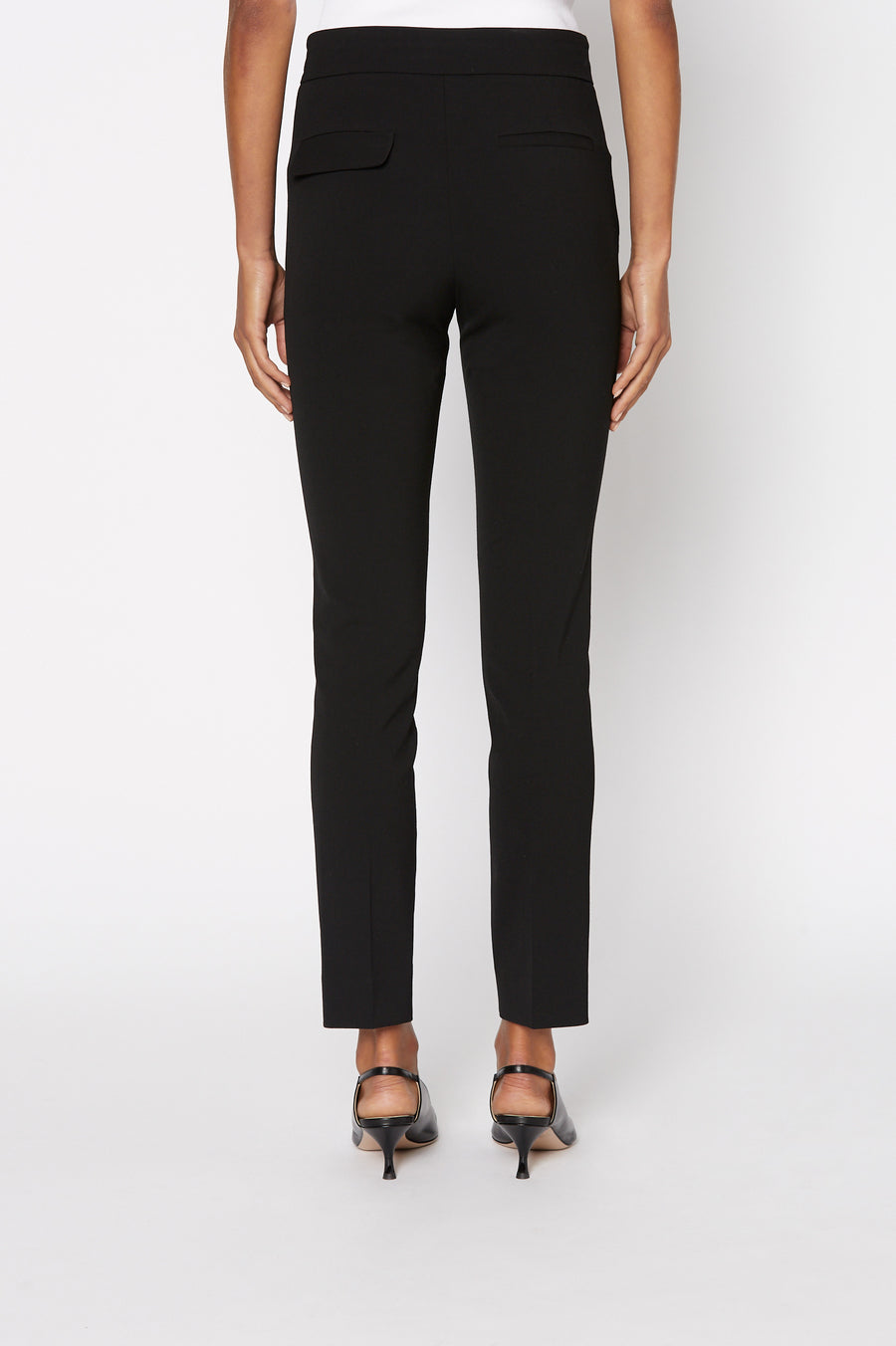 TAILORED SLIM CROPPED TROUSER