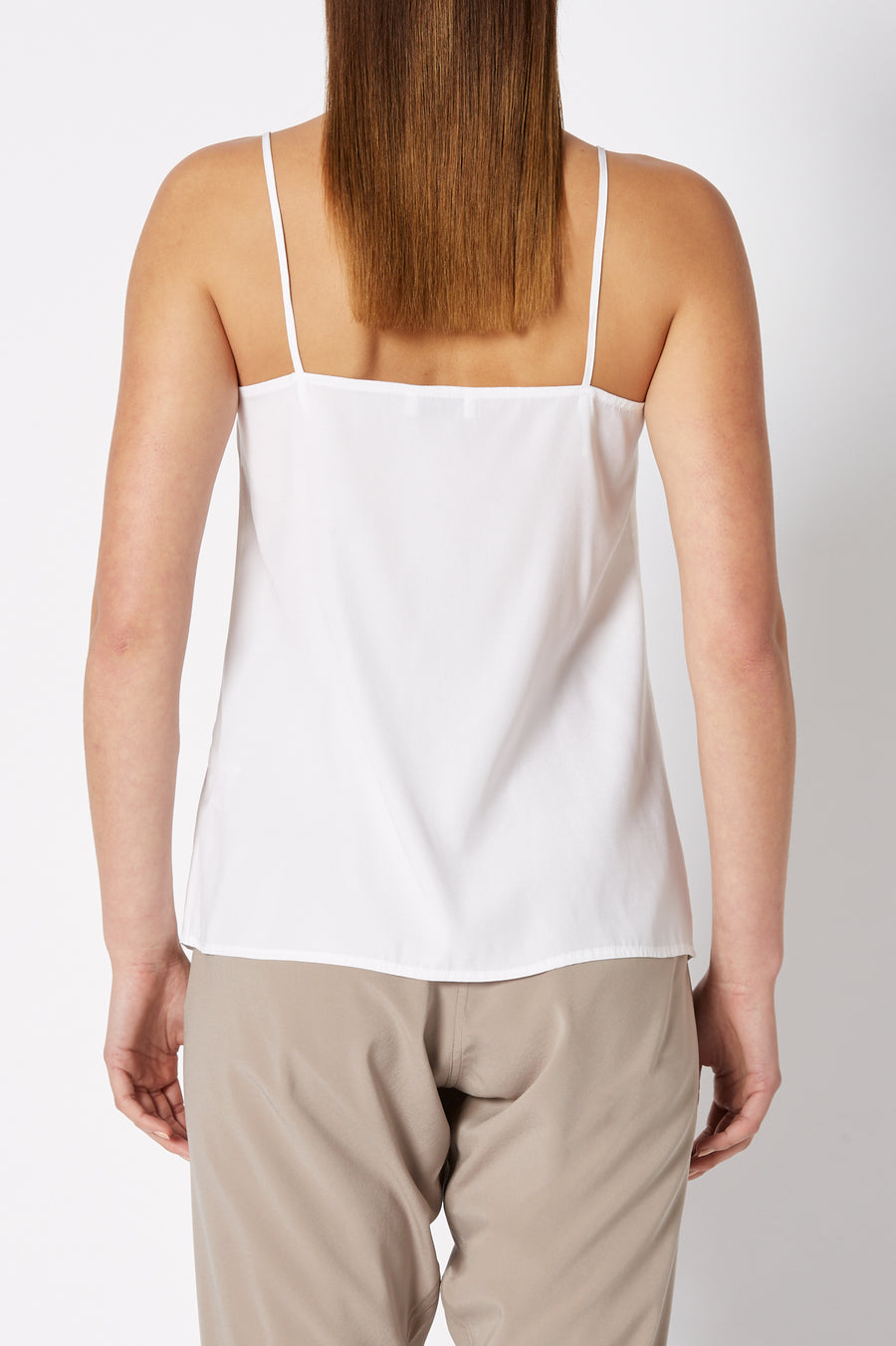 SHOESTRING CAMISOLE WHITE
