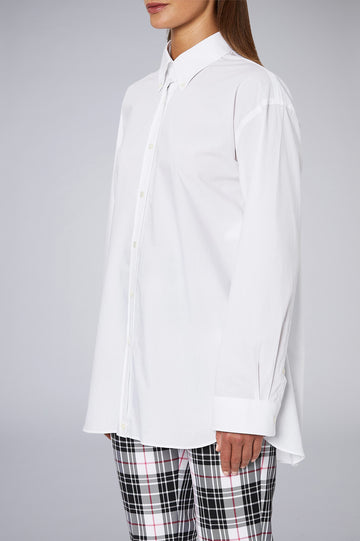 BUTTON COLLAR SHIRT WHITE