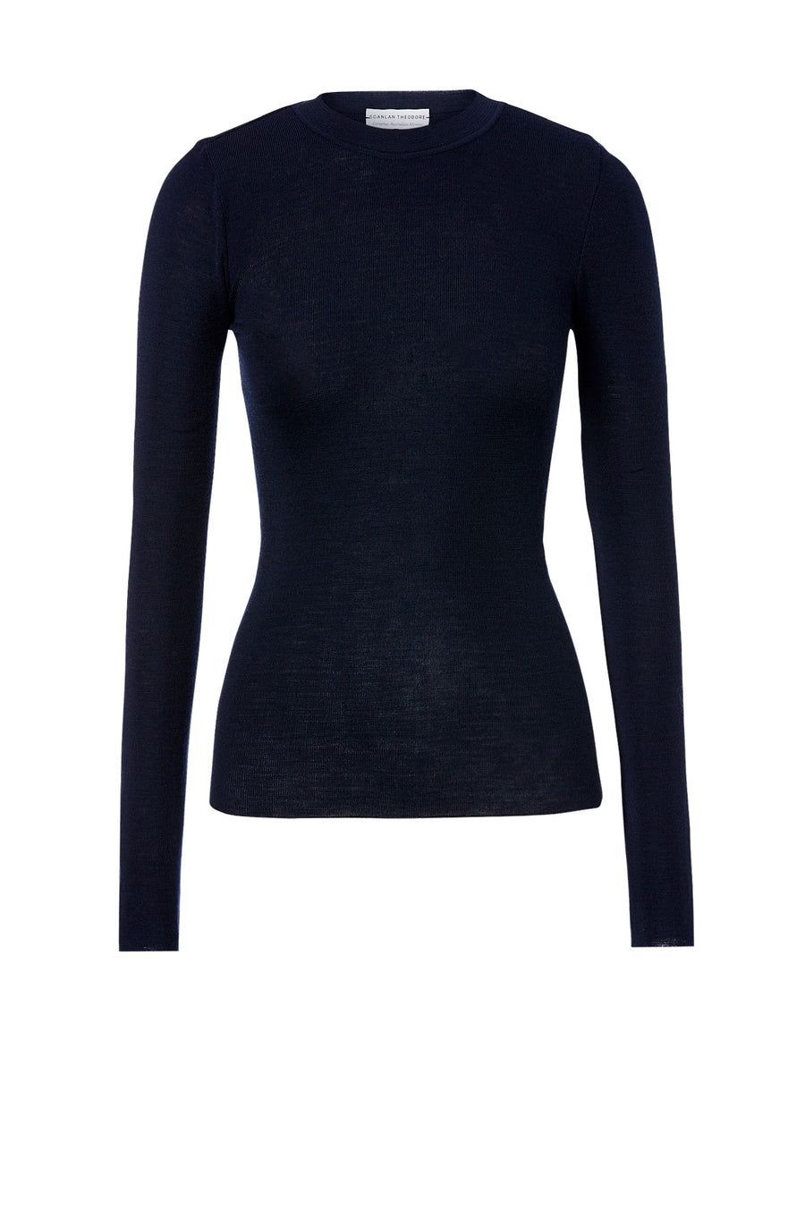Babywool Crew Neck Sweater Navy - Scanlan Theodore