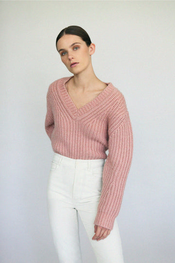 Cocoon Sweater 3 Pink - Scanlan Theodore