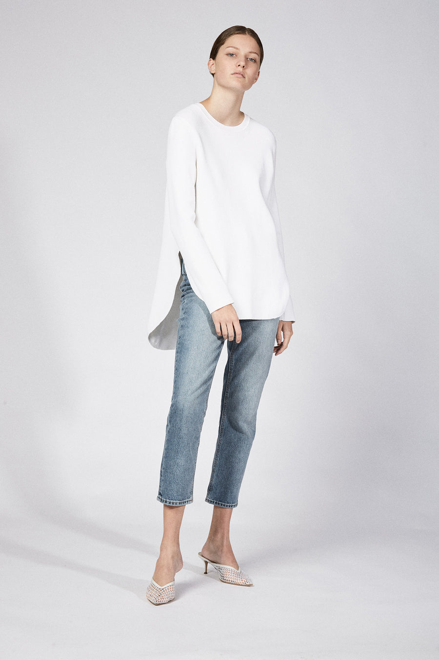 A quintessential basic for any season, this rib-knit top will be a go-to for years to come.