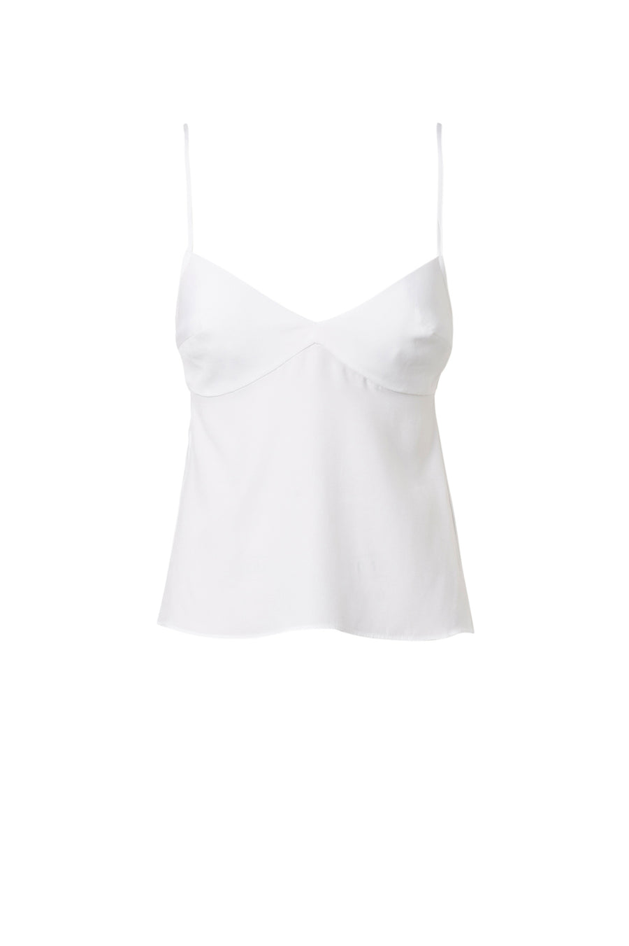 The camisole features adjustable shoulder straps and a flattering sweetheart neckline.