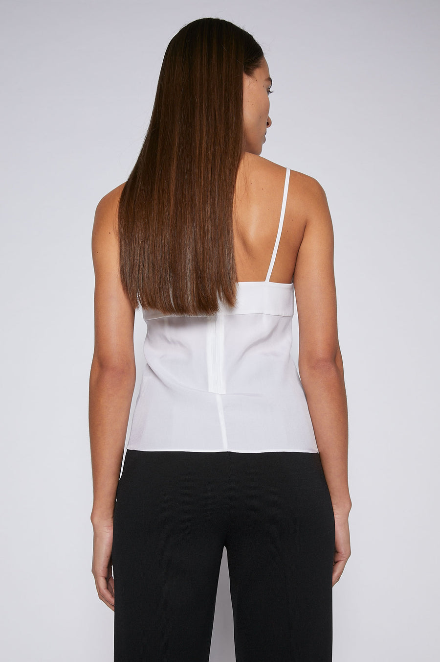 Invest in elegant basics with the Silk Camisole. Cut from lustrous silk to a relaxed silhouette