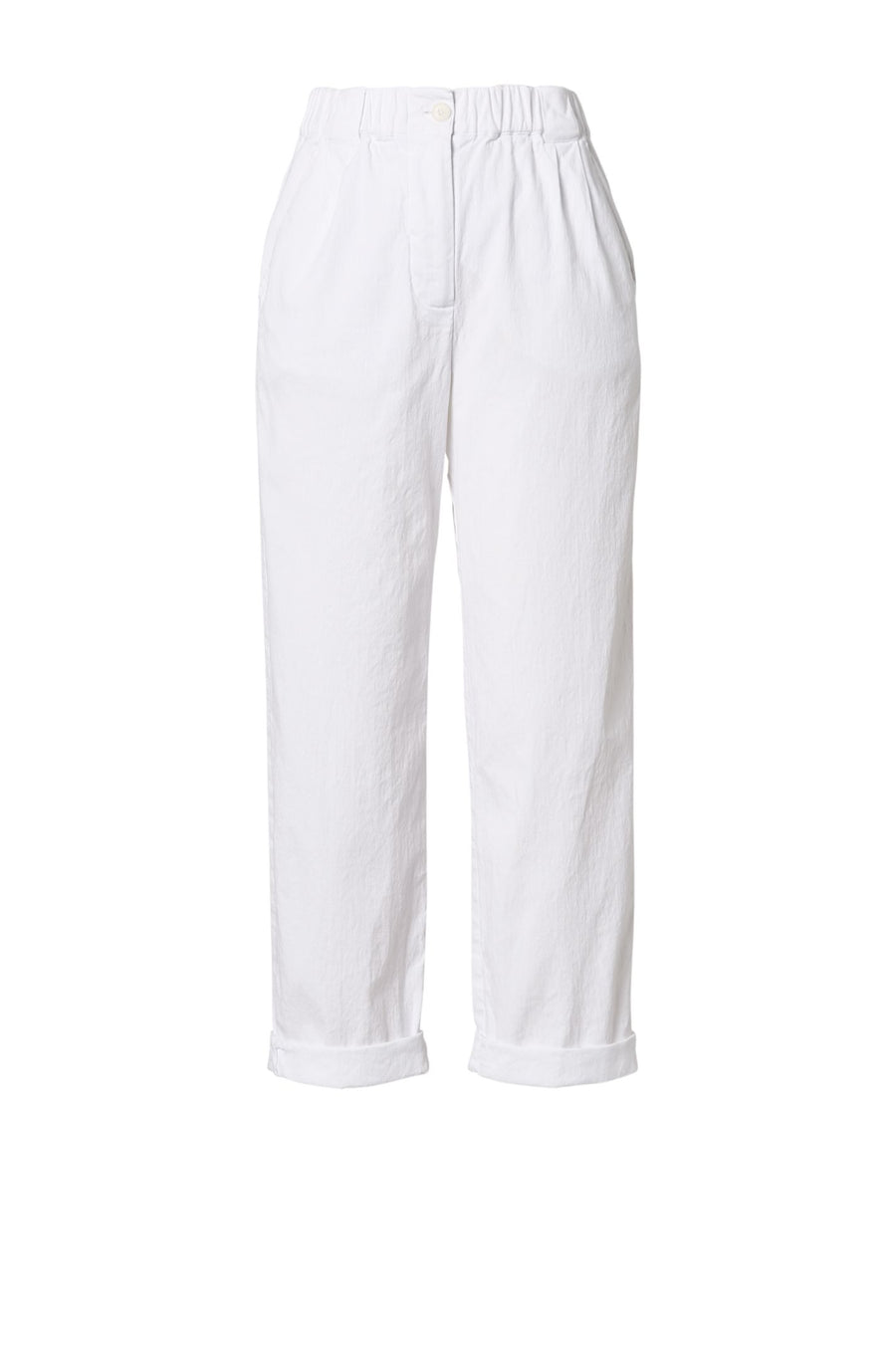 SOFT TROUSER WHITE