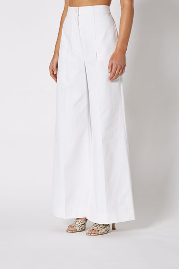 SAILOR TROUSER WHITE