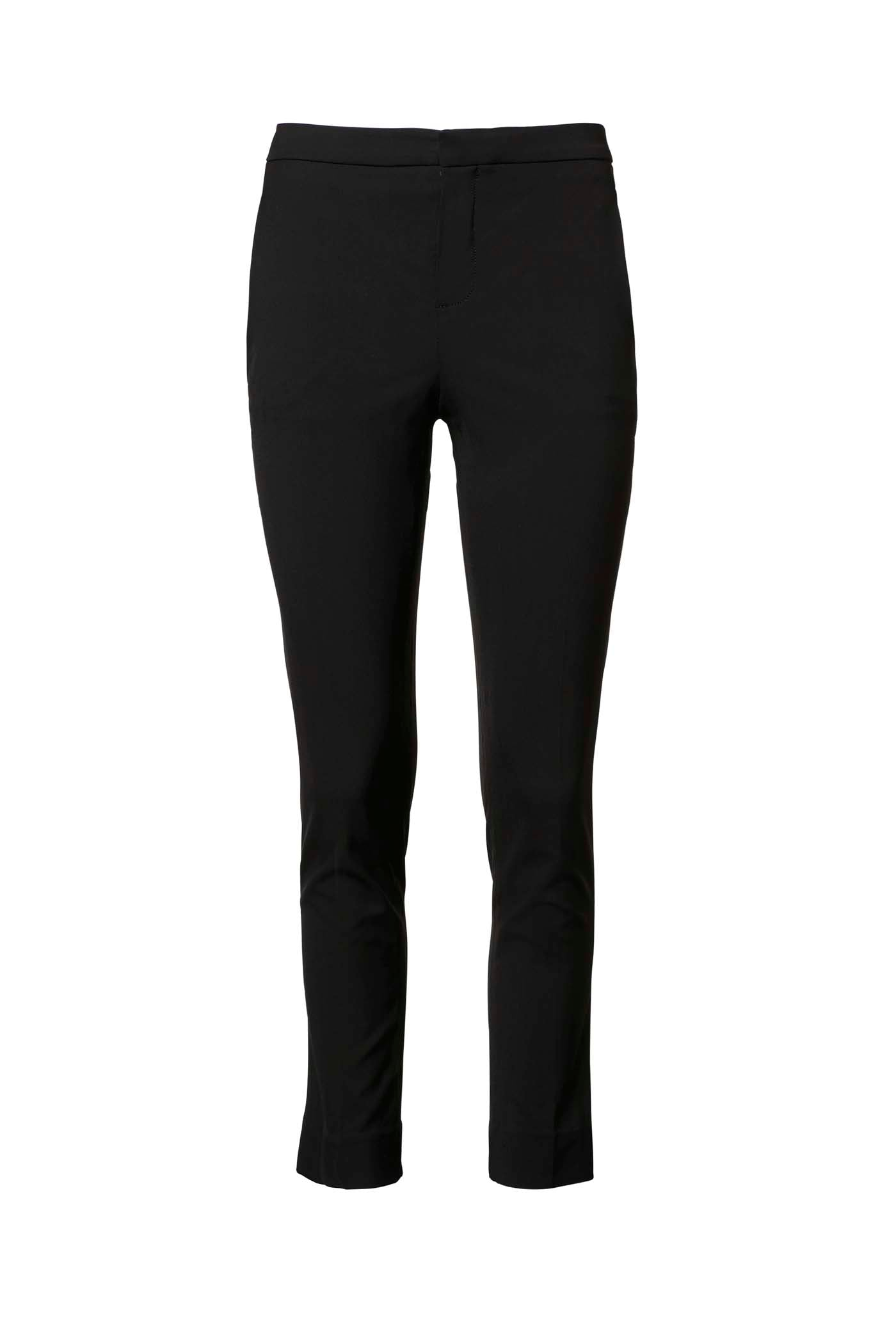 3e1d0f91689 TAILORED SLIM CROPPED TROUSER NAVY