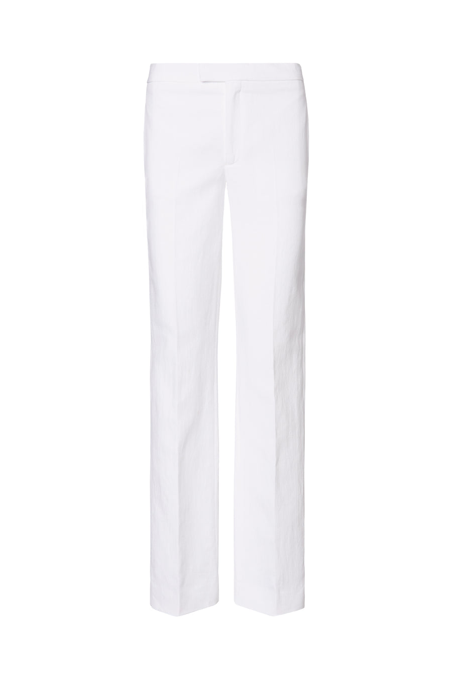 TAILORED TROUSER, WHITE color