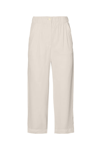 POWDERED VISCOSE TROUSER, FRAPPE color