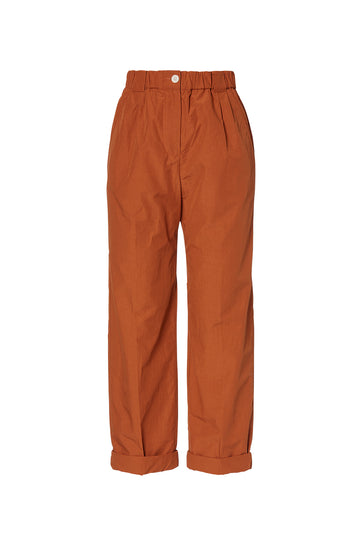 SOFT TROUSER SIENNA, SIENNA color