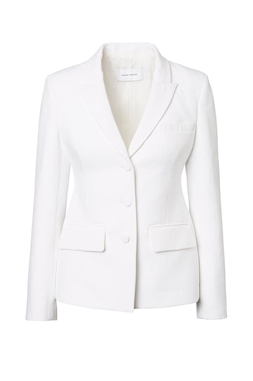 TUX JACKET, WHITE color