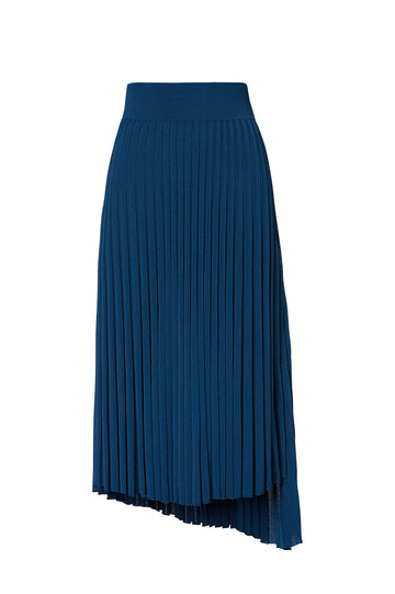PLEATED RIB WRAP SKIRT 16