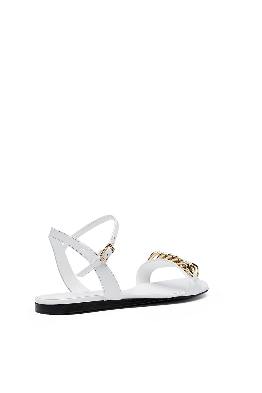 CHAIN SANDAL BIANCO, BIANCO color