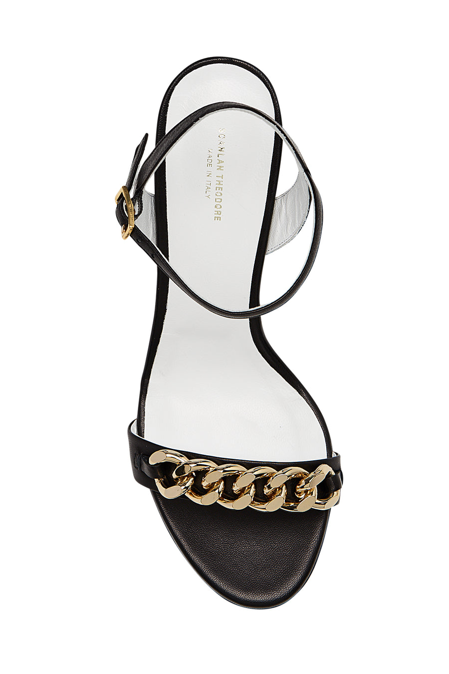 CHAIN SANDAL 8 NERO, NERO color