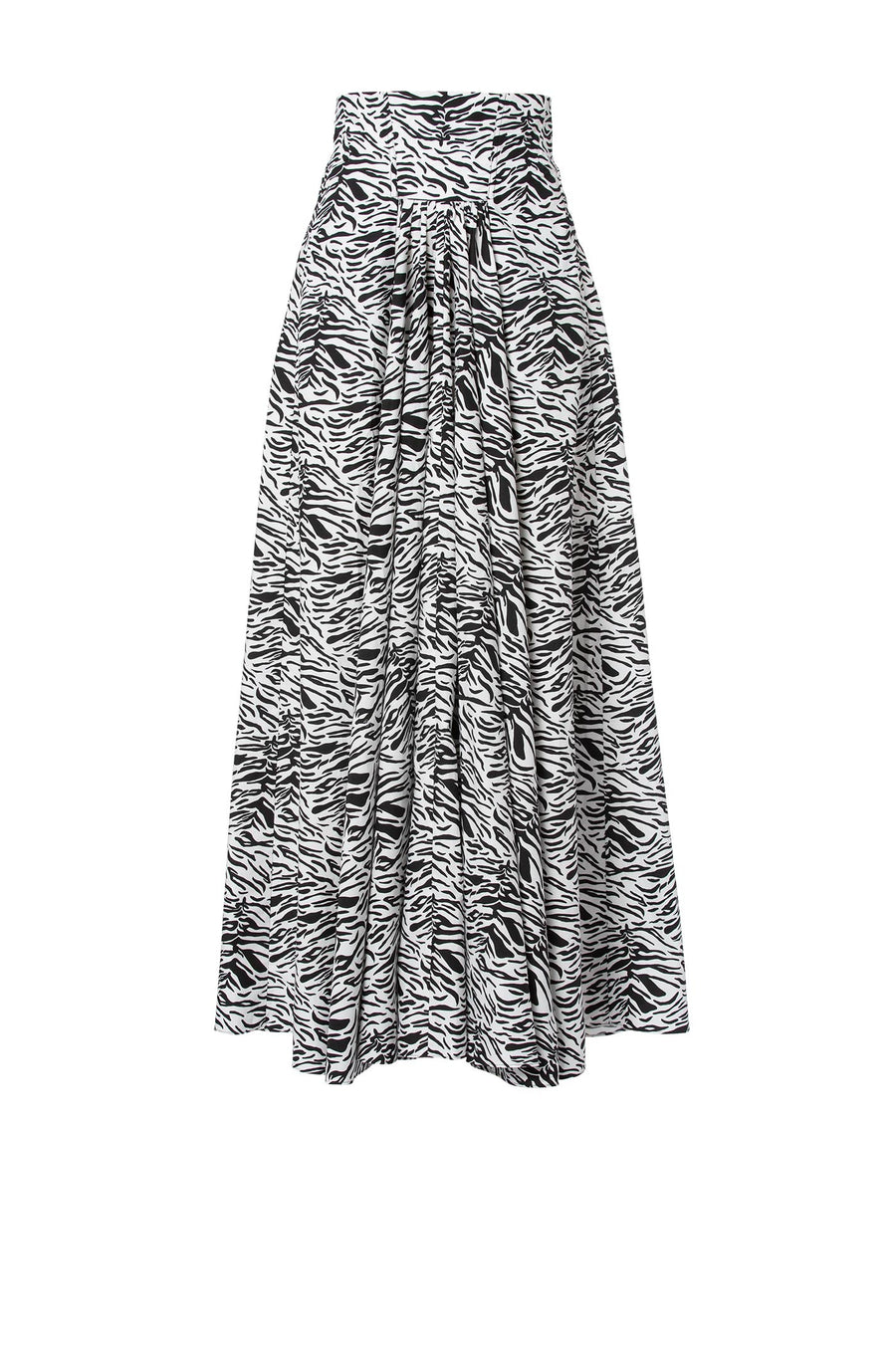 Animnal print skirt, Regular fit, Maxi Length