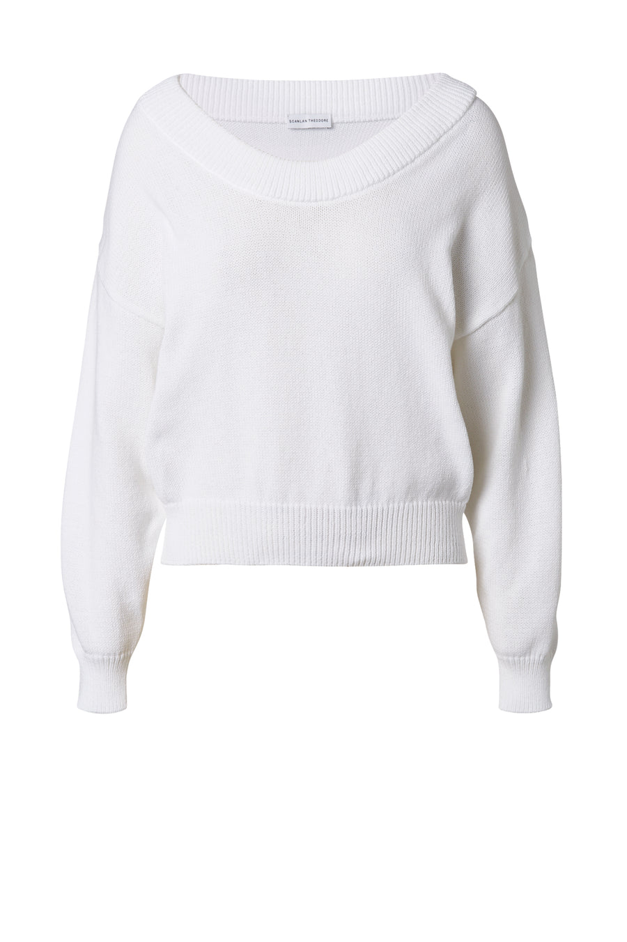 Our Cotton Sparkle Sweater embodies understated comfort and style.