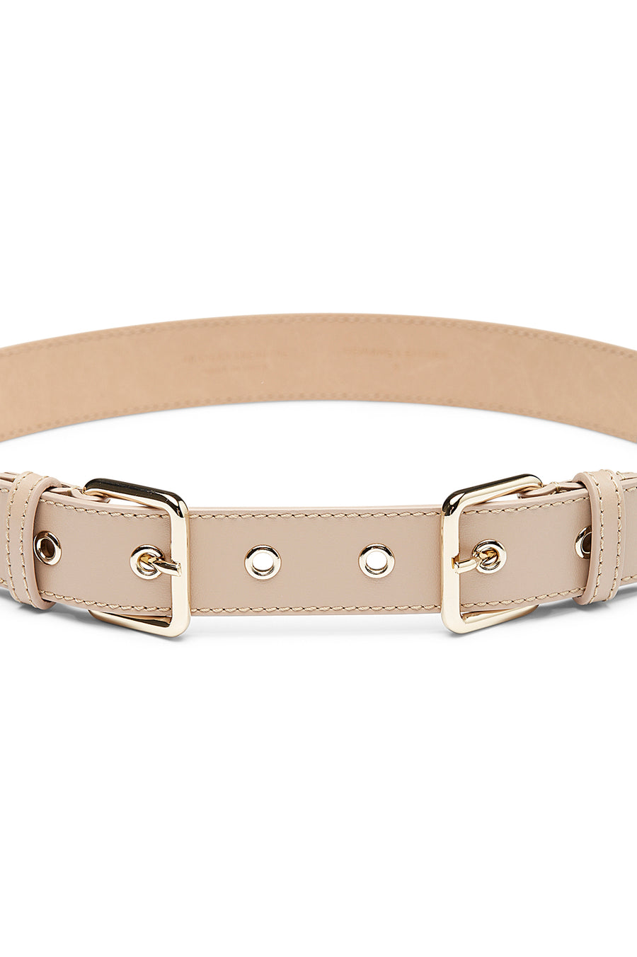 DOUBLE BUCKLE BELT NACELLO
