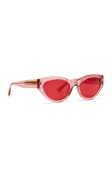 S T CAT EYE SUNGLASSES ROSE
