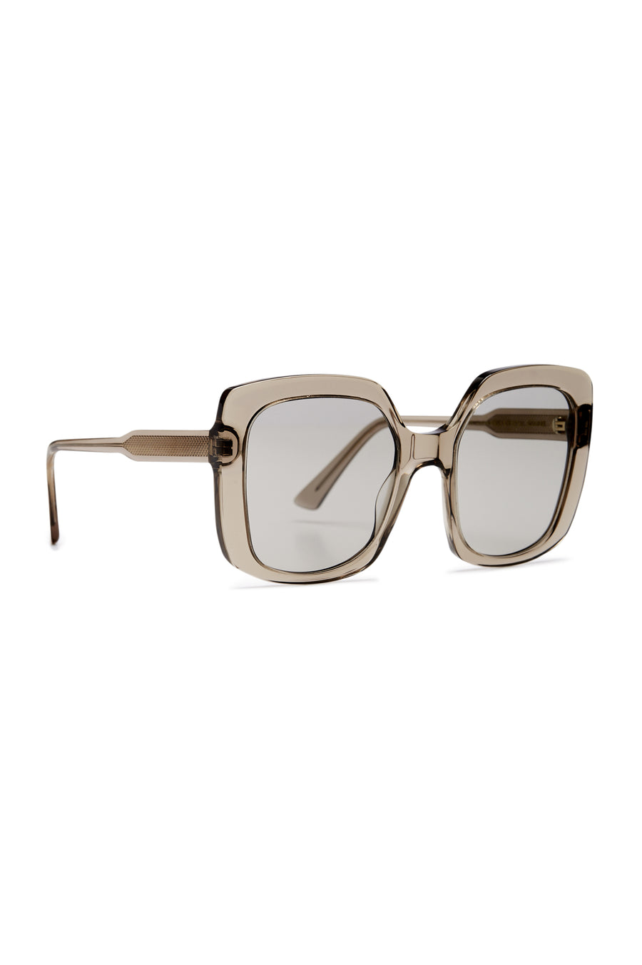 S T SQUARE SUNGLASSES GREY