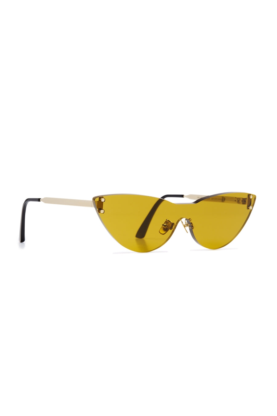 S T CAT EYE SHIELD SUNGLASSES BREEN