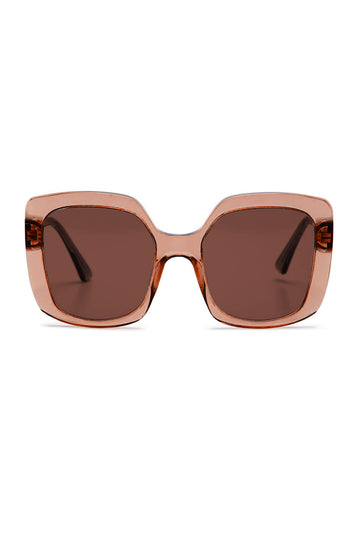 S T SQUARE SUNGLASSES ROSE