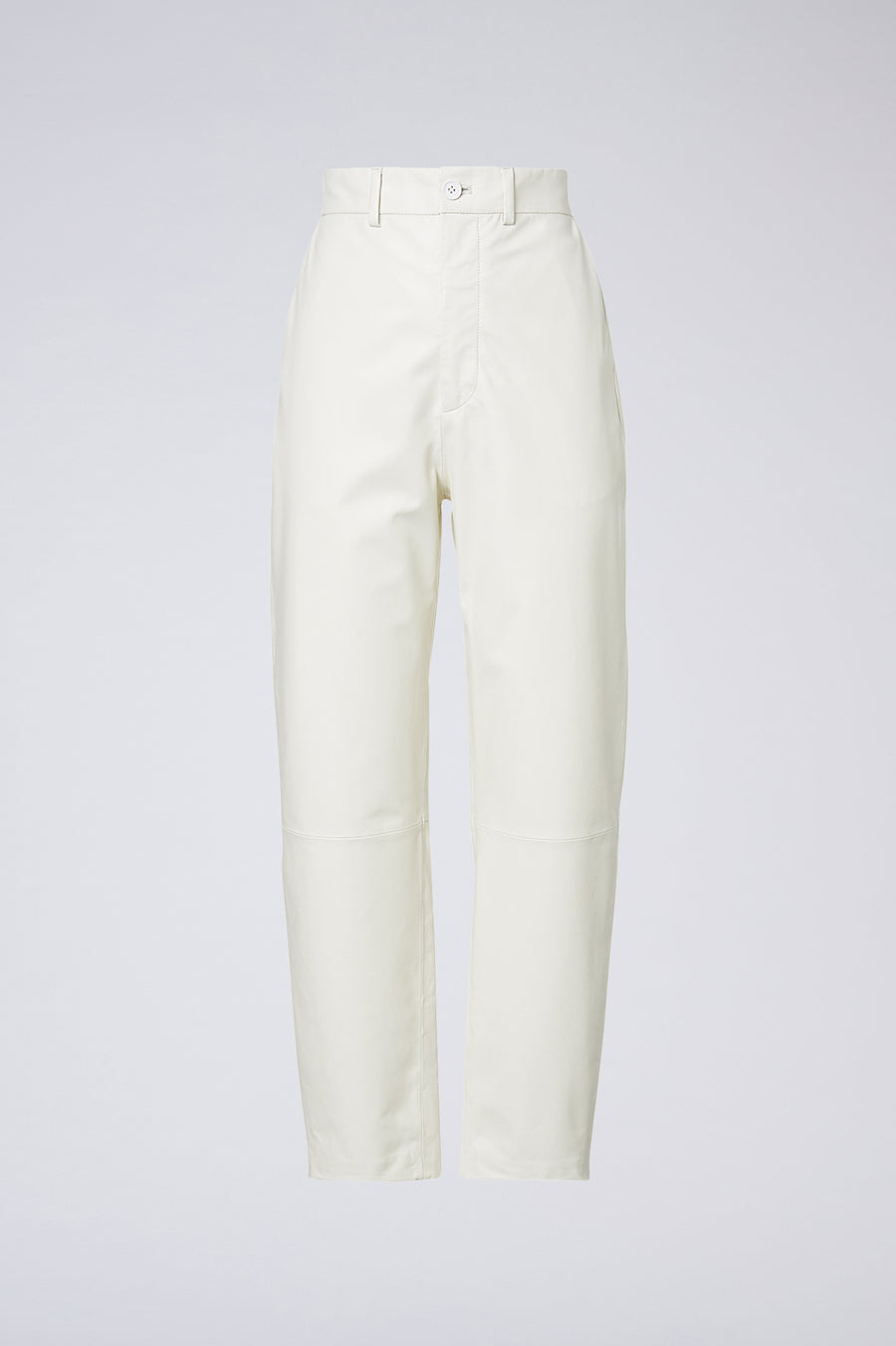 Crafted from a luxuriously soft leather, the Leather High Waist Trouser are a versatile and luxe staple