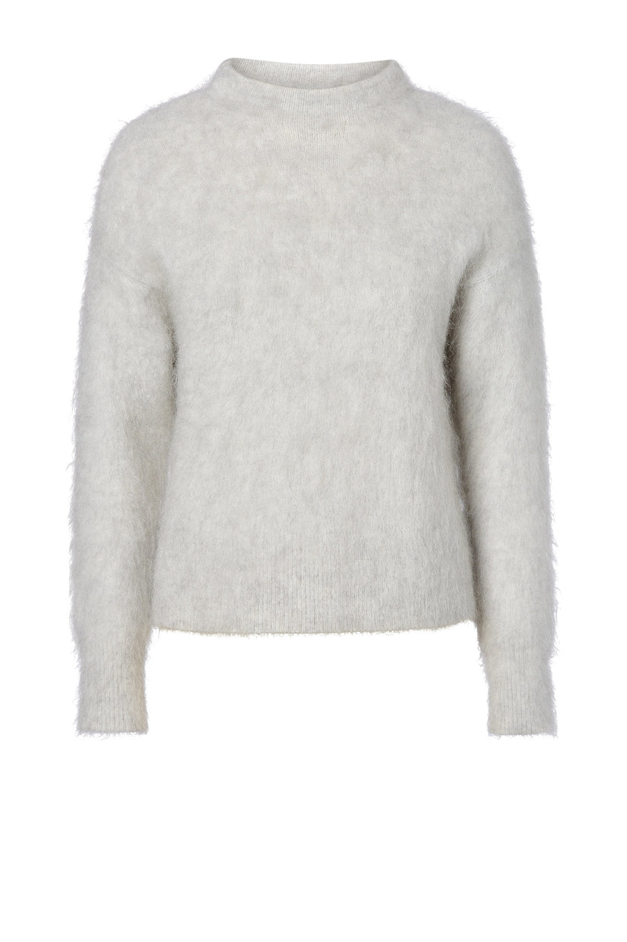 Brushed Mohair Sweater 5 Grey - Scanlan Theodore