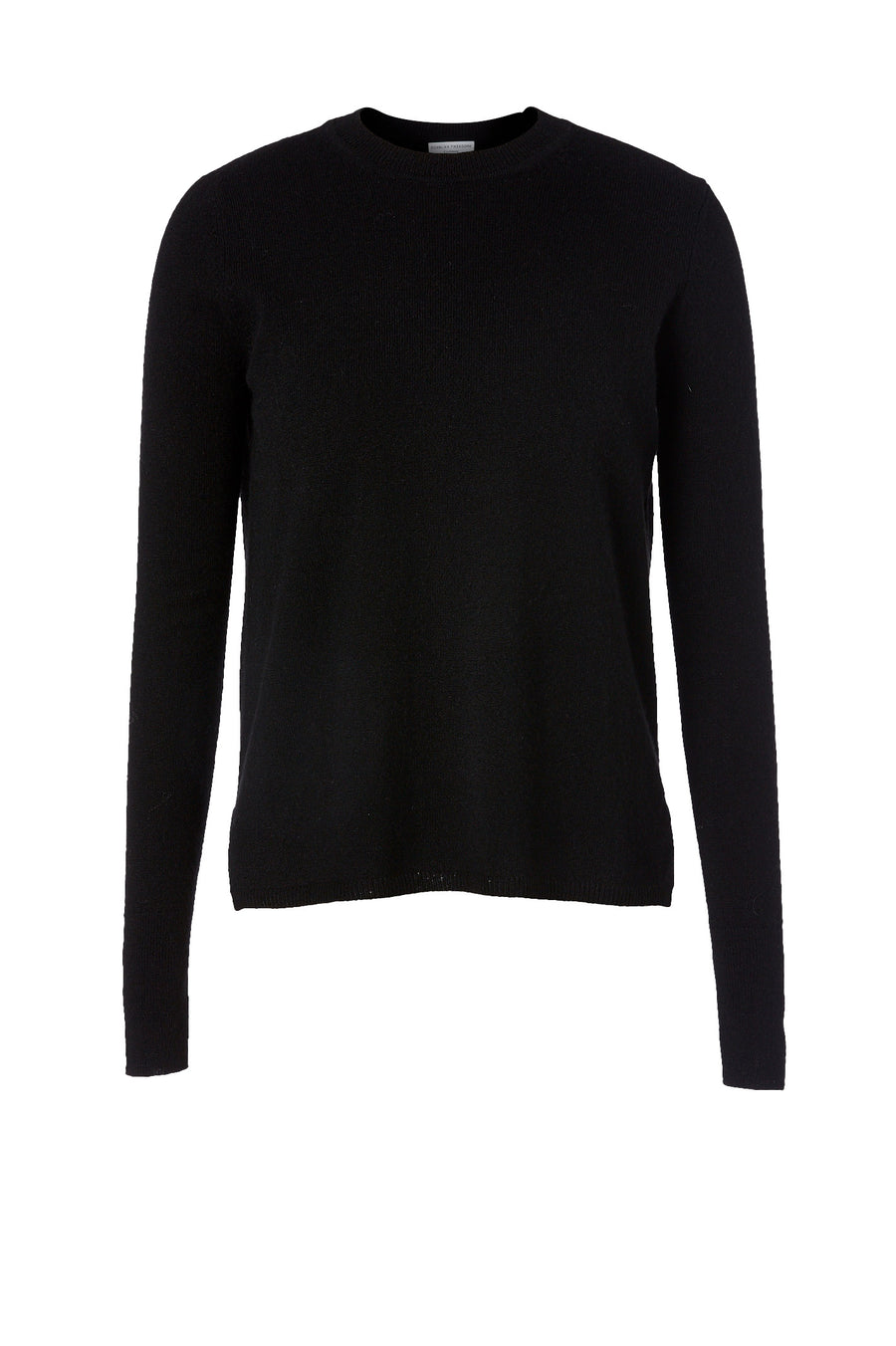 Embrace the cool with the Cashmere Crew Neck Sweater